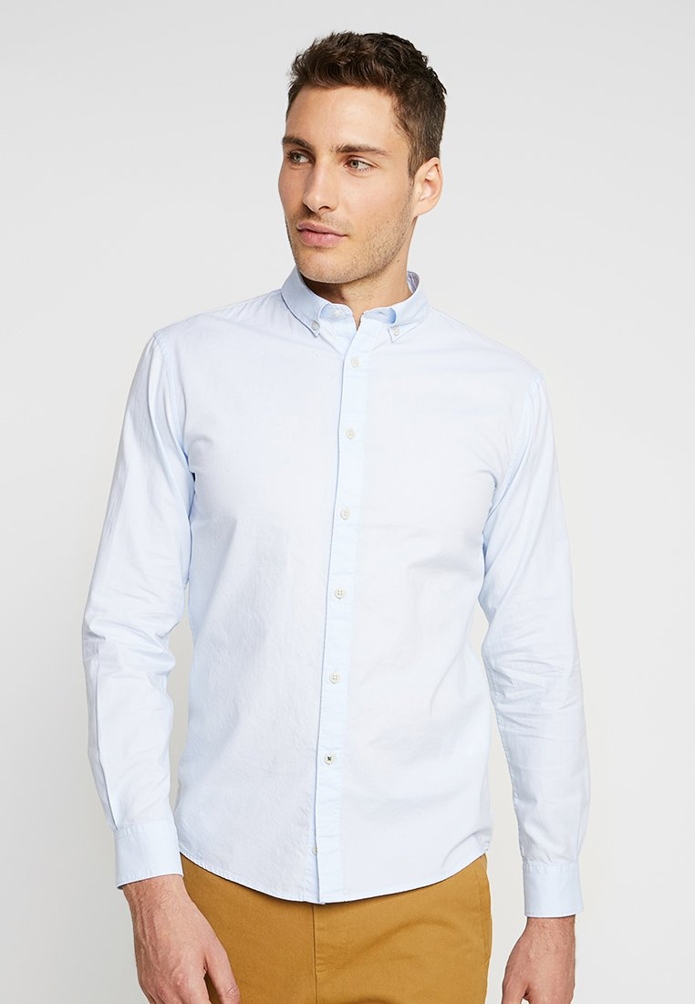 CELIO - NAPINPOINT - Shirt - light blue