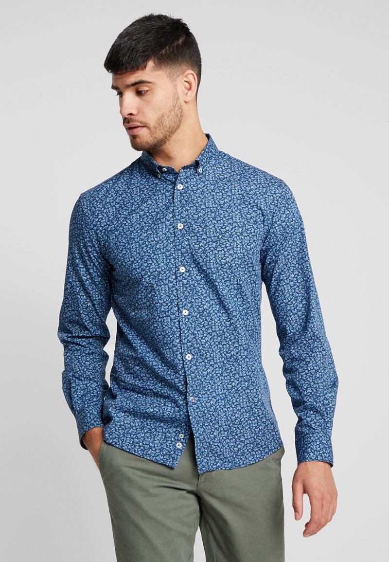 CELIO - NAPRINWASH - Camisa - bleu