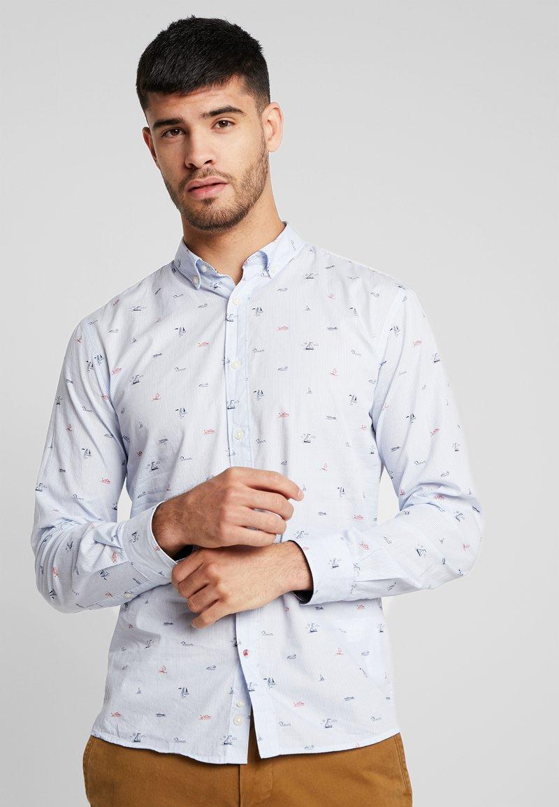 CELIO - NAVIRE - Shirt - bleu