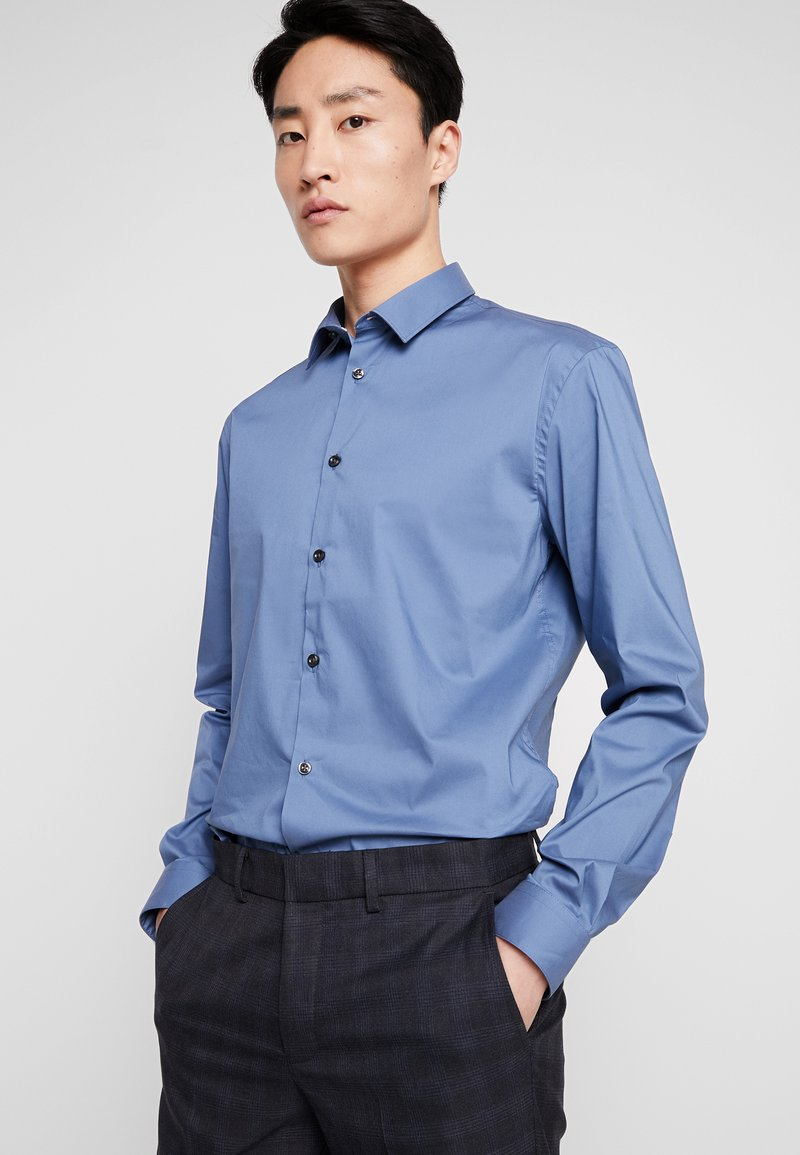CELIO - MASANTAL - Businesshemd - bleu gris