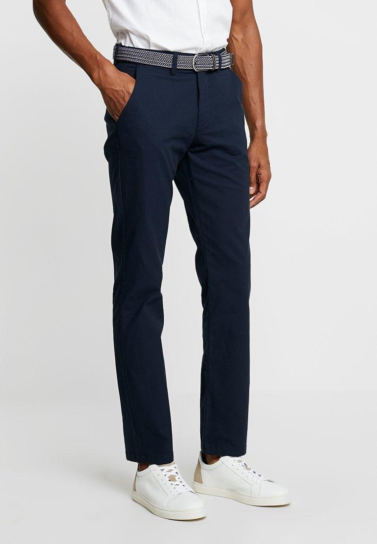 CELIO - NOBELTYD - Spodnie materiałowe - dark navy