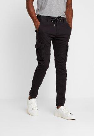 NOLYTE - Cargo trousers - noir