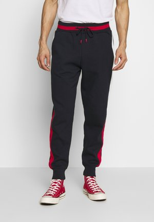 PORITZ - Tracksuit bottoms - navy