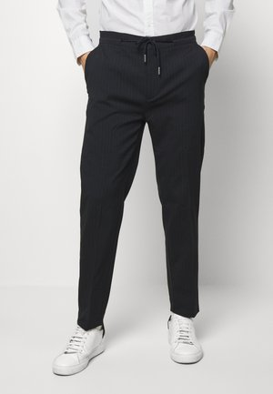 ANOBY - Trousers - navy ocean