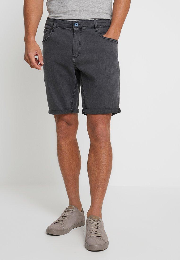 CELIO - Denim shorts - grey