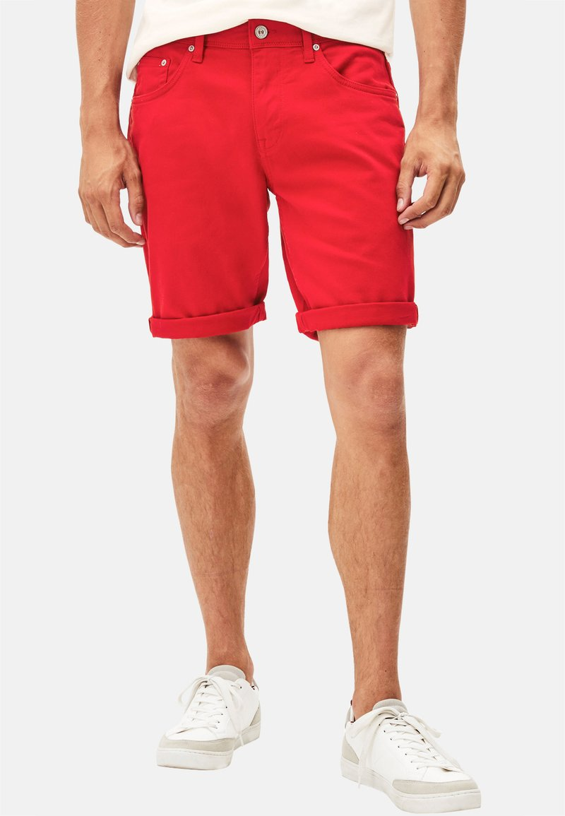 CELIO - MOHITOBM - Denim shorts - red