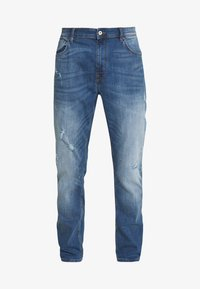 CELIO - ROPATCH - Jeans Slim Fit - blue - 4