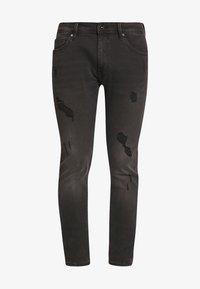 CELIO - ROSTROY - Slim fit jeans - noir - 4