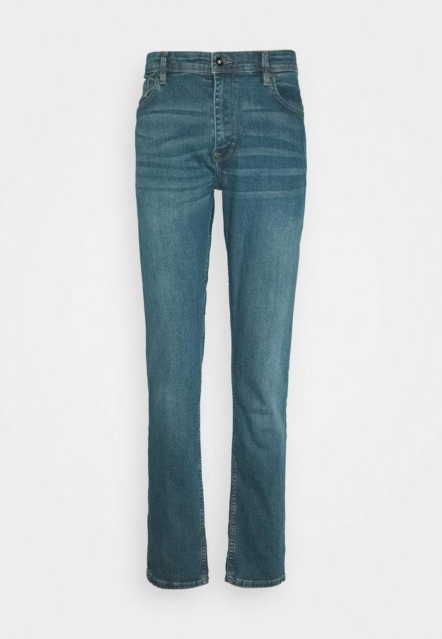 ROSLEEN - Jeans slim fit - stone