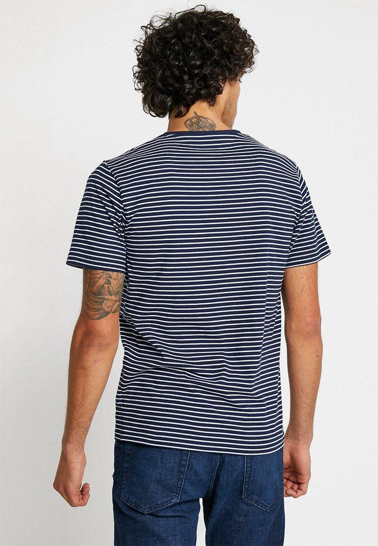 Celio Neuniray - T-shirts Print Navy Blue