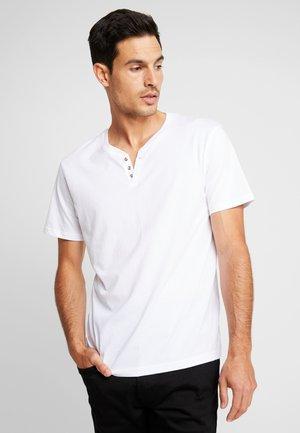 NEBET - Jednoduché triko - optical white