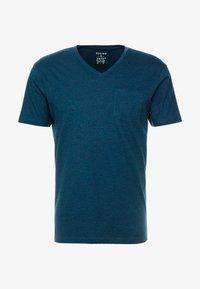 CELIO - T-shirt basique - green melange - 3