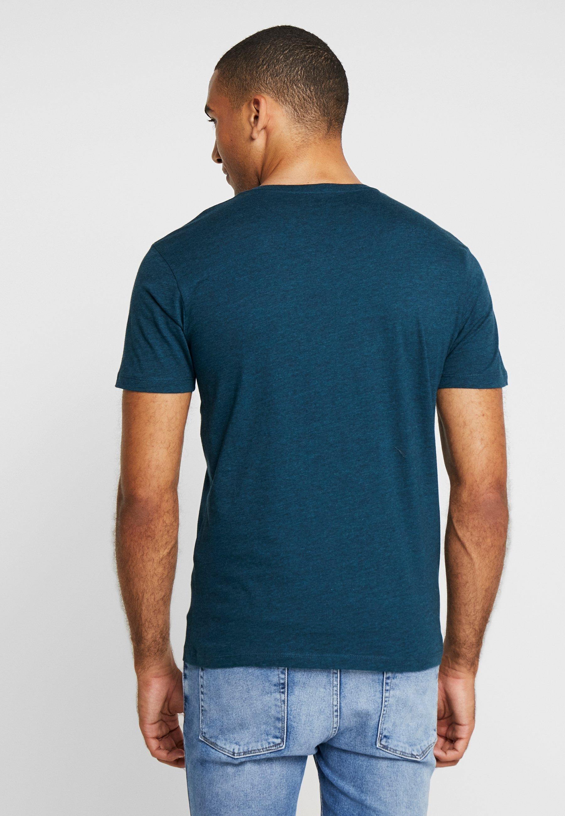 Green Celio T Melange shirt Basic 0N8nPOwkX