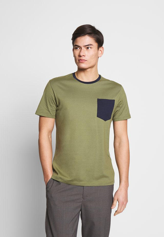 RECONTRAST - T-shirt basic - khaki
