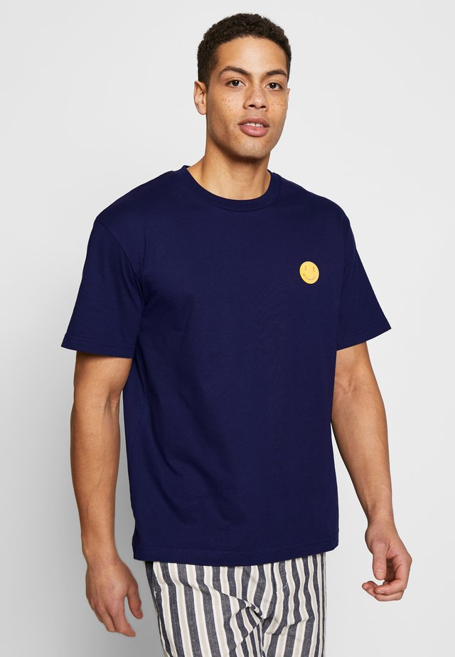 RESTIFF - T-shirt basic - navy blue
