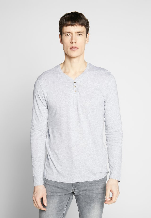 REABELONG - Top s dlouhým rukávem - heather grey