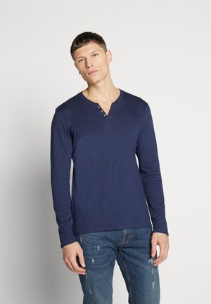REABELONG - Long sleeved top - heather navy