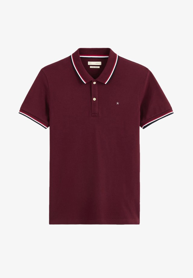 NECE TWO - Polo shirt - bordeaux