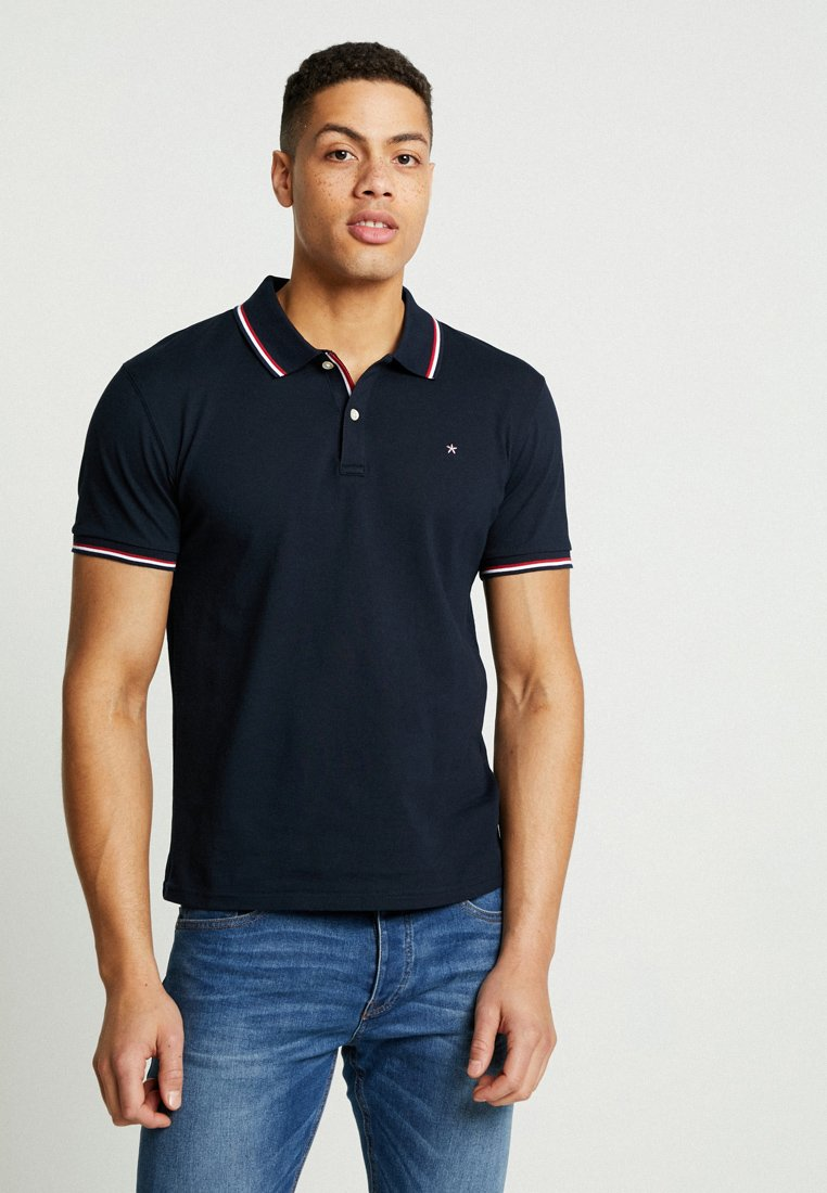 CELIO - NECE TWO - Polo shirt - navy blue