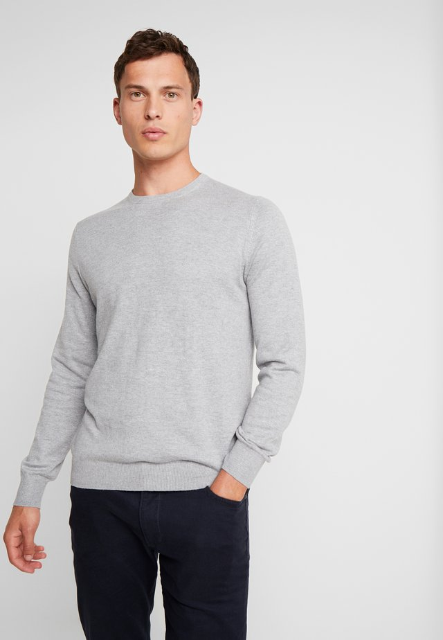 PEACH - Sweatshirt - grey melange