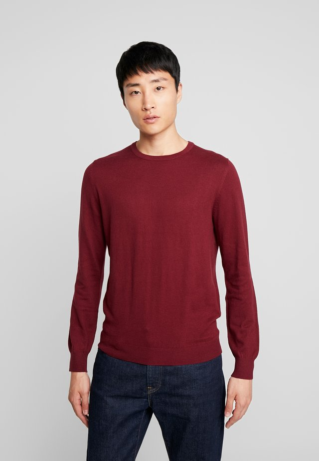 PEACH - Sweatshirt - burgundy