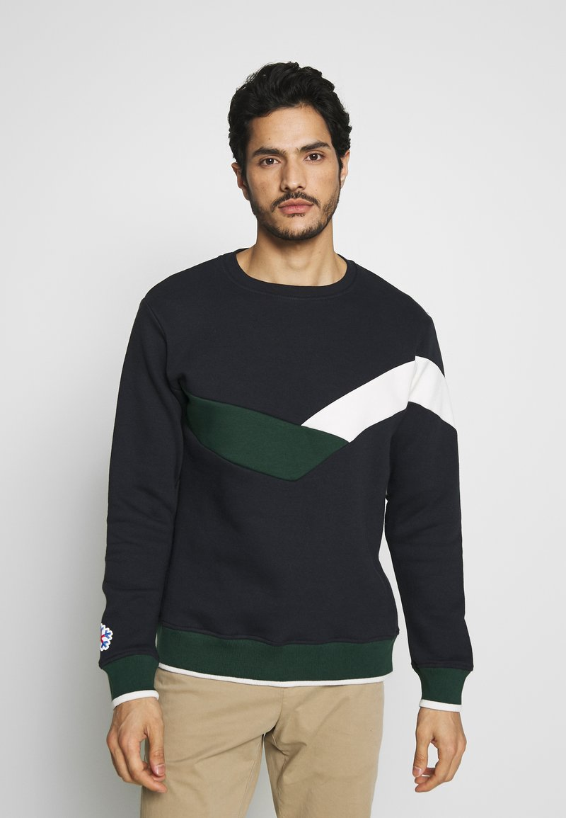 CELIO - PERIBBON - Sweatshirt - navy