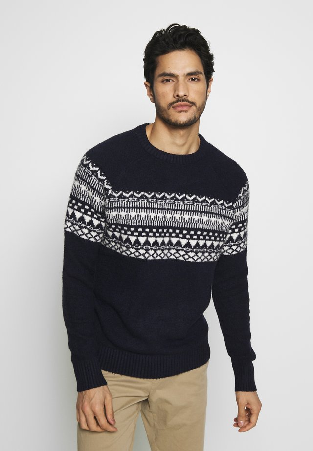 PEDOLCE - Jumper - navy