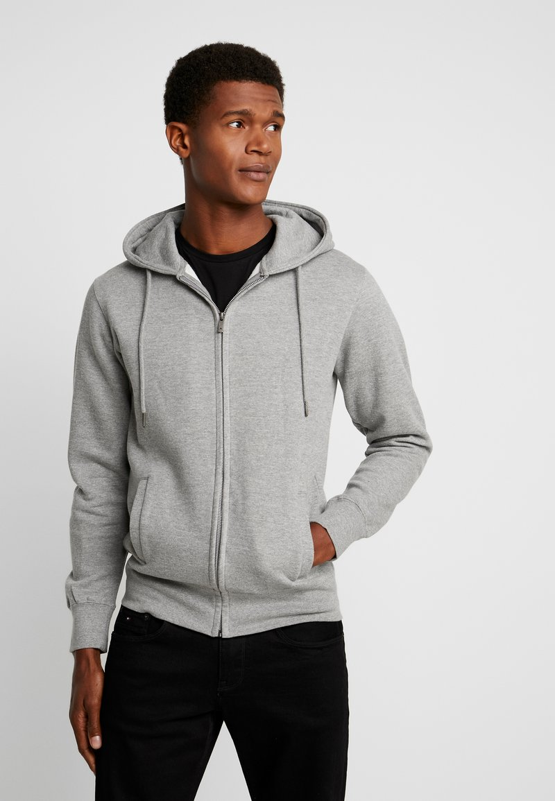 CELIO - MEBELVEST - Sweatjacke - heather grey
