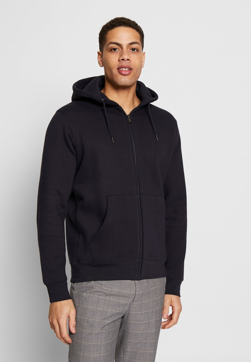 CELIO - RETHREE - Zip-up hoodie - navy blue
