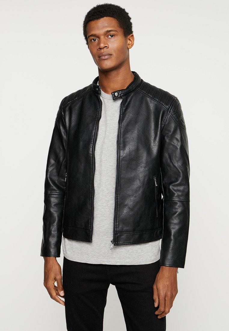 CELIO - NUBIKER - Faux leather jacket - black