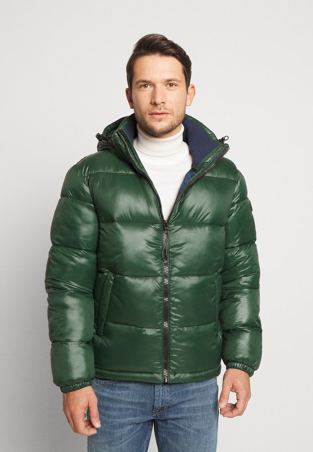 PUSNOW - Winter jacket - bottle green