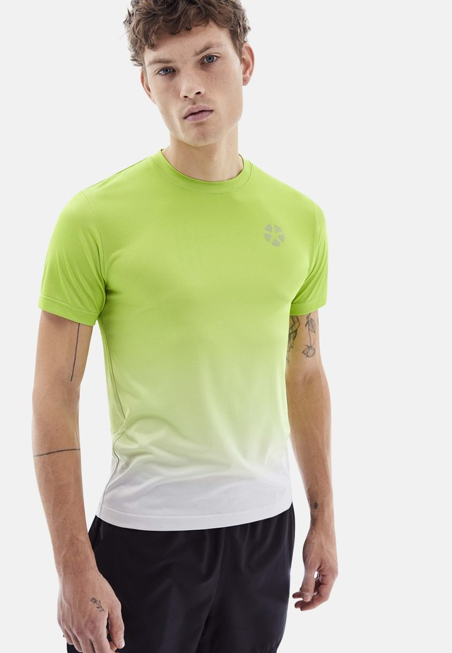 SRERADIANT - T-shirt imprimé - yellow