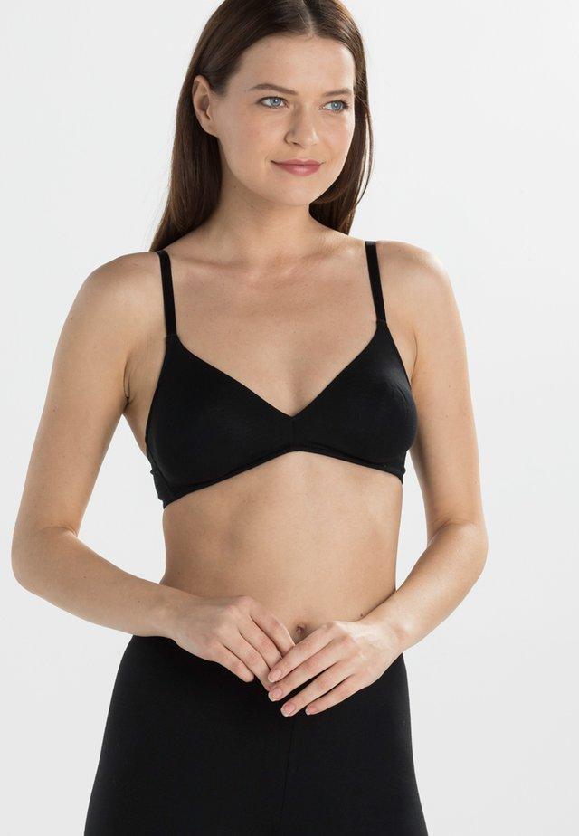 COMFORT - Triangle bra - schwarz