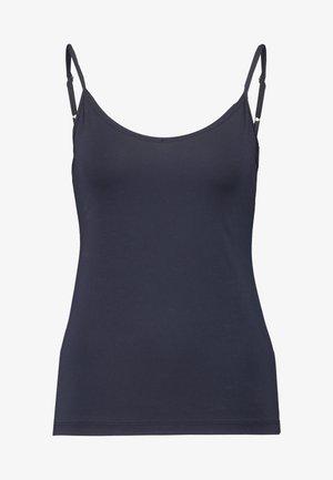 NATURAL JOY SPAGHETTI - Undershirt - dark lapis blue