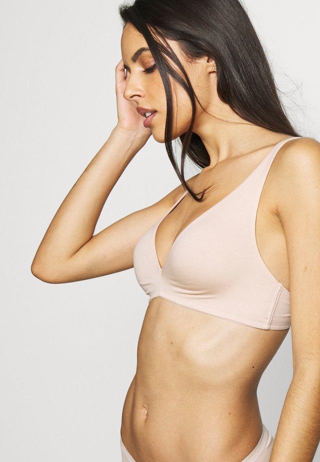 SOFT - Triangel BH - nude