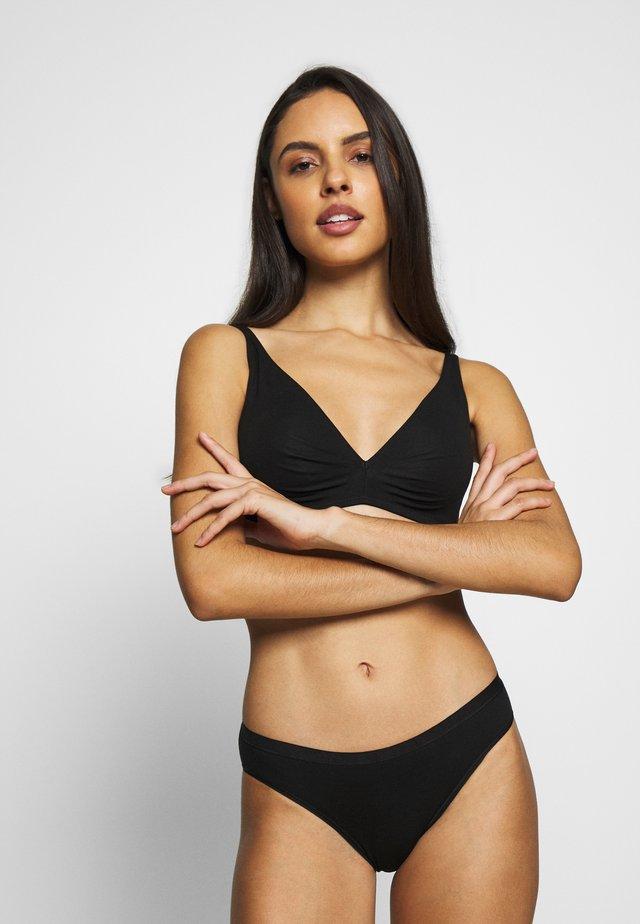 SOFT - Kaarituettomat rintaliivit - black