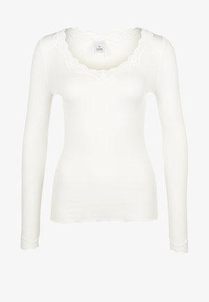Pyjama top - cream white