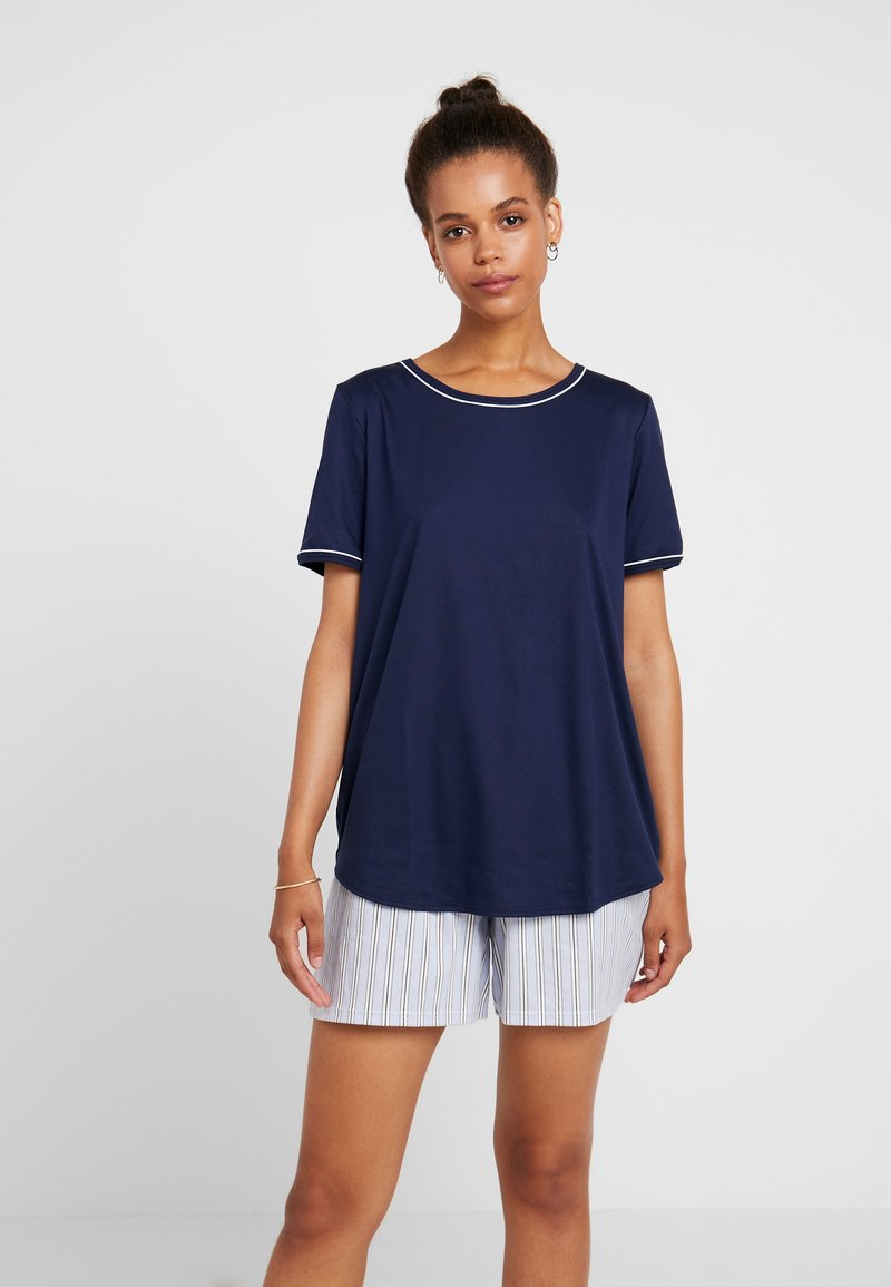 Calida - SWEET DREAMS SET - Pyjamas - peacoat blue