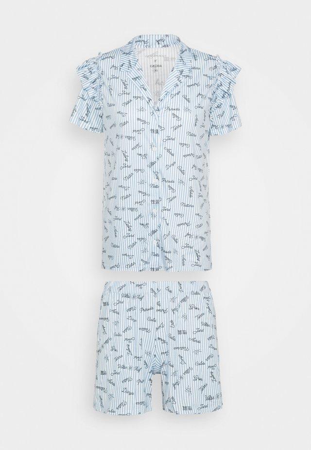 V & R Damen - Pyjama - placid blue
