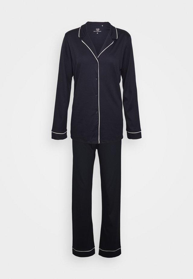 NIGHT LOVERS SET - Pyjamas - dark lapis blue