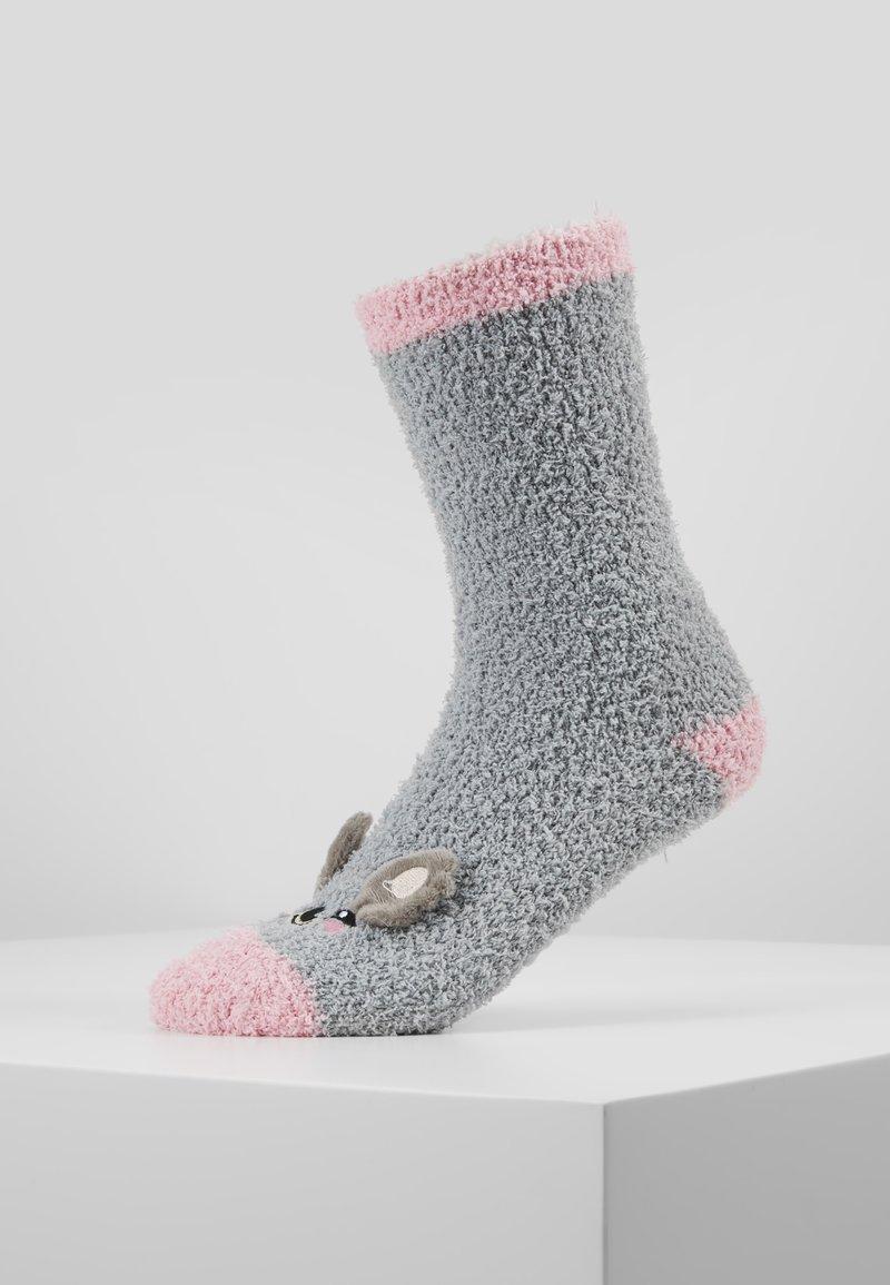 Chelsea Peers - KOALA FLUFFY EYE MASK SET - Ponožky - grey