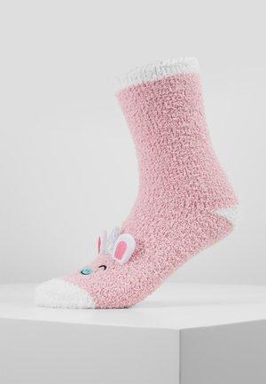 UNICORN FLUFFY EYE MASK SET - Sokker - pink
