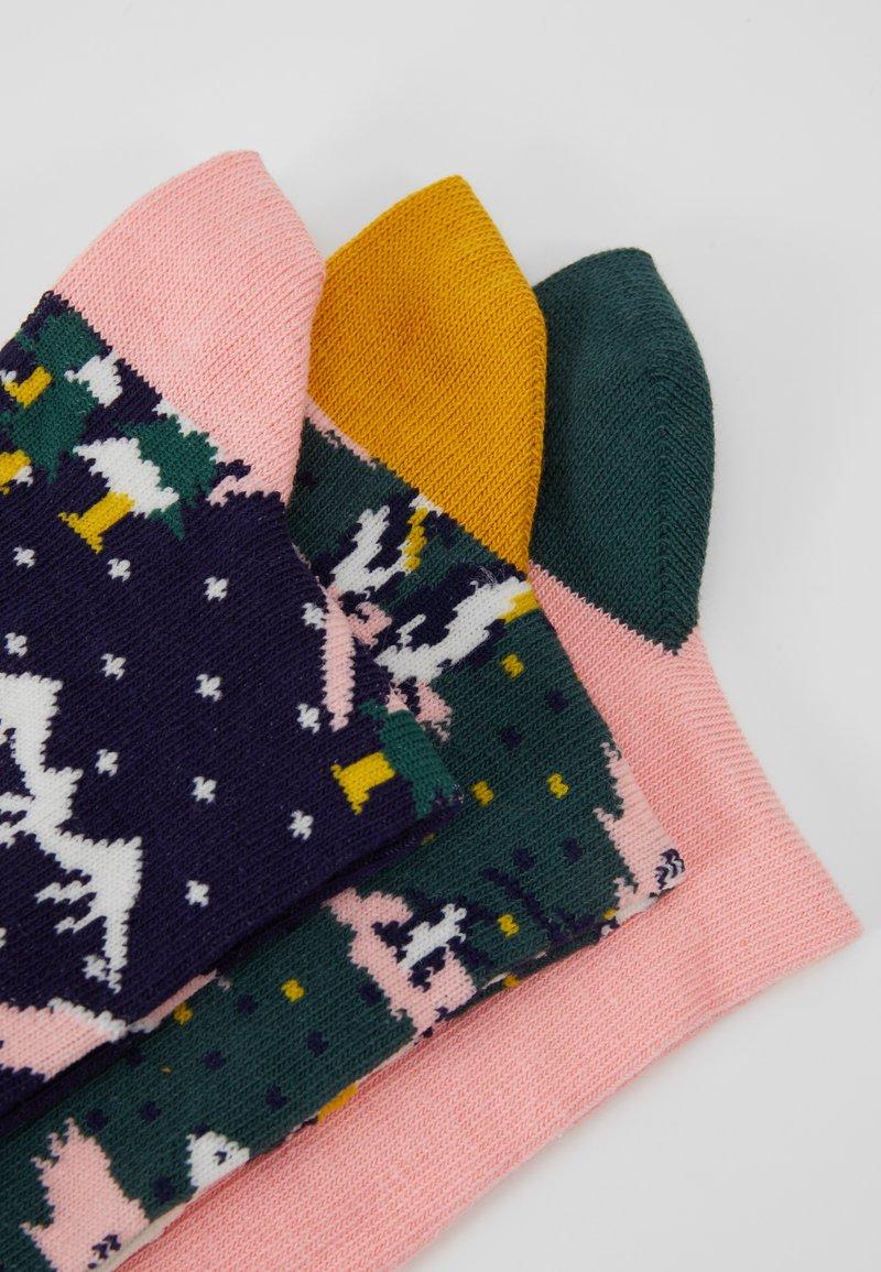 Chelsea Peers - SNOWY CHRISTMAS SOCK 3 PACK - Ponožky - multi