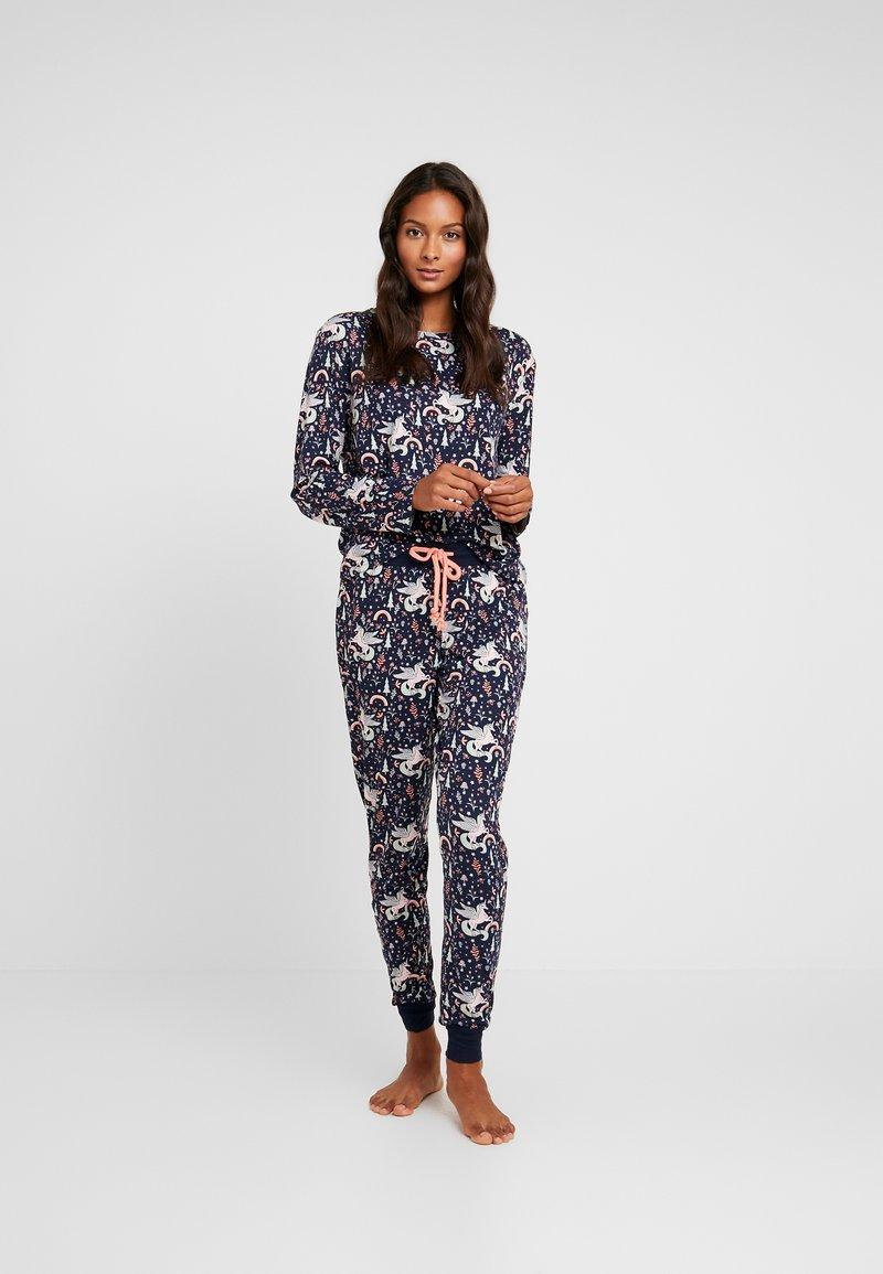Chelsea Peers - FAIRY TALE UNICORN LONG SET - Pyjamas - multi