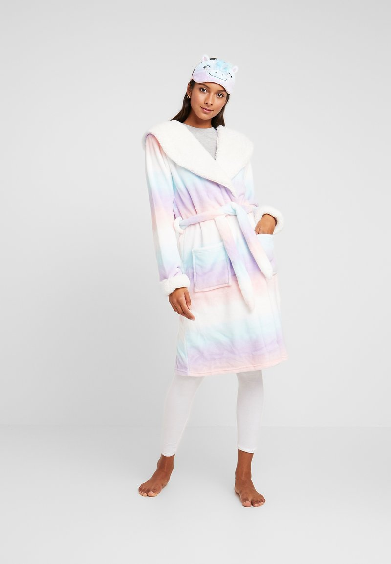 Chelsea Peers - UNICRON DREAMS DRESSING GOWN AND EYE MASK SET - Accappatoio - multi