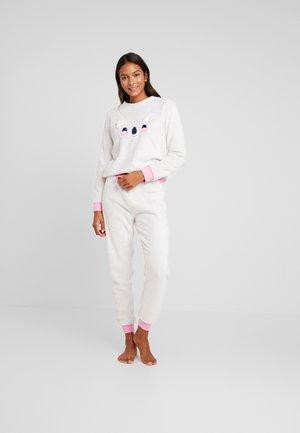 FLUFFY KOALA SET - Pyjama set - grey