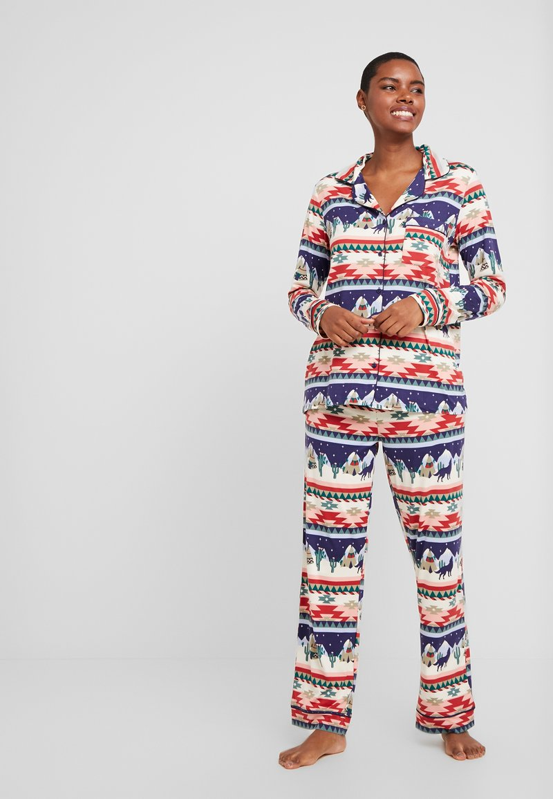 Chelsea Peers - NAVAJO LONG SET - Pyžamová sada - multi