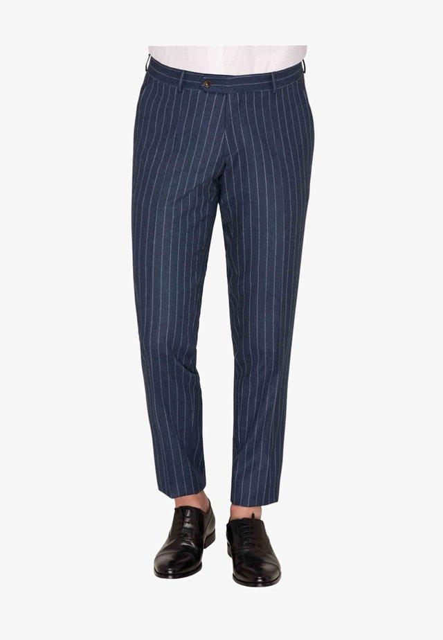 FRACK - Suit trousers - blue