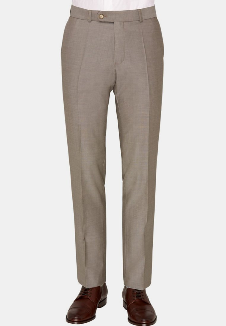 Carl Gross - Suit trousers - light brown