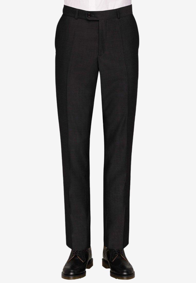 Carl Gross - Suit trousers - black